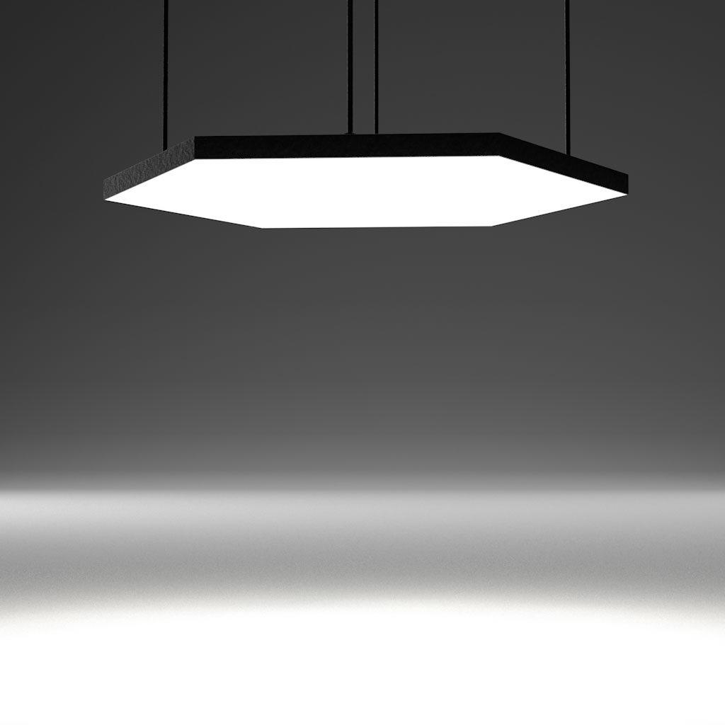 Светодиодный светильник в виде соты