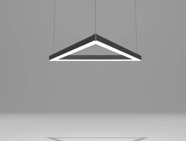 светильник треугольный светодиодный