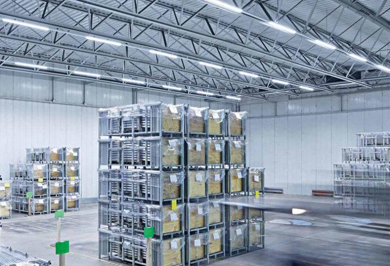 Модульные светильники на склад