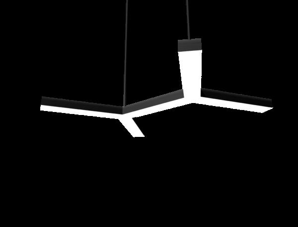 Модульный светильник Полусота