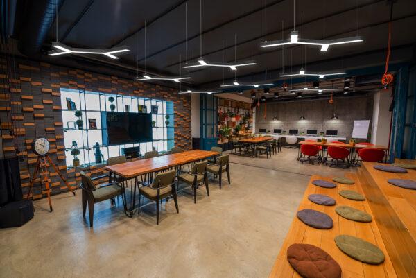 Изготовление светодиодных светильников для офиса
